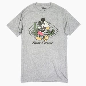 Disney Mickey Mouse Texas Forever Graphic T Shirt